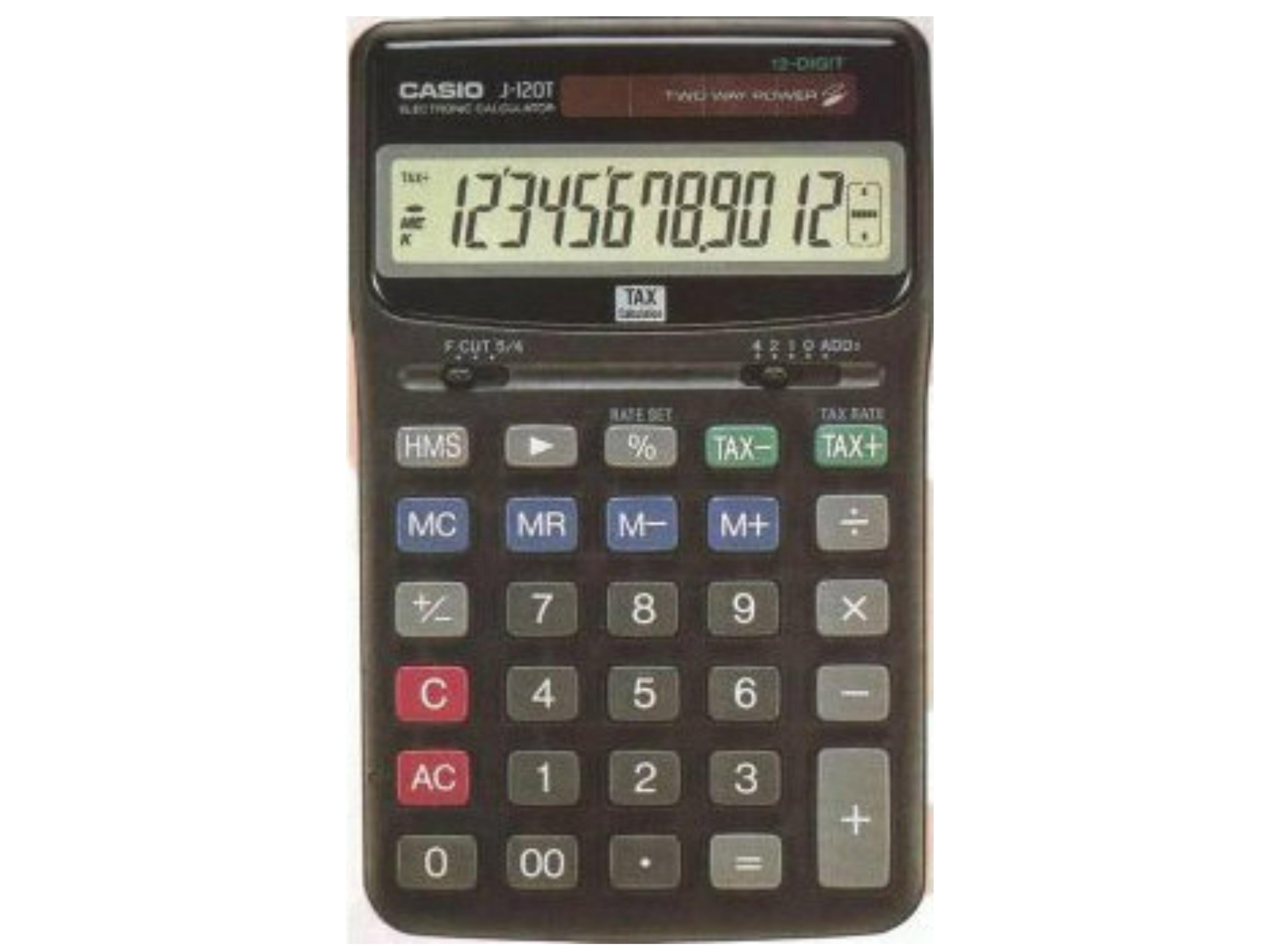 Αριθμομηχανή 12 ΨΗΦ.CASIO WS-1210T