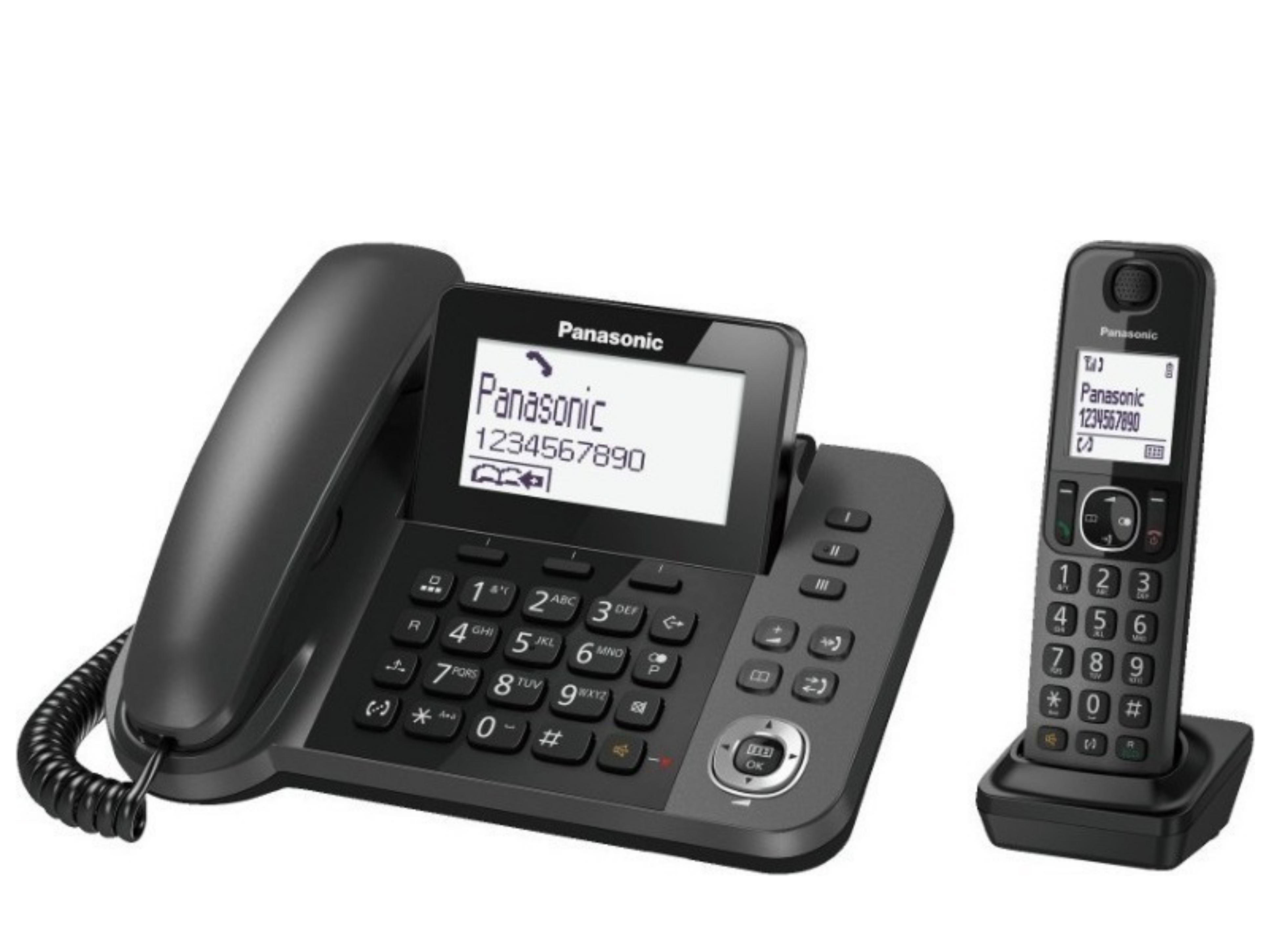 Ασύρματο και Σταθ.Σετ Ψηφιακό Τηλέφωνο Panasonic KX- TGF310
