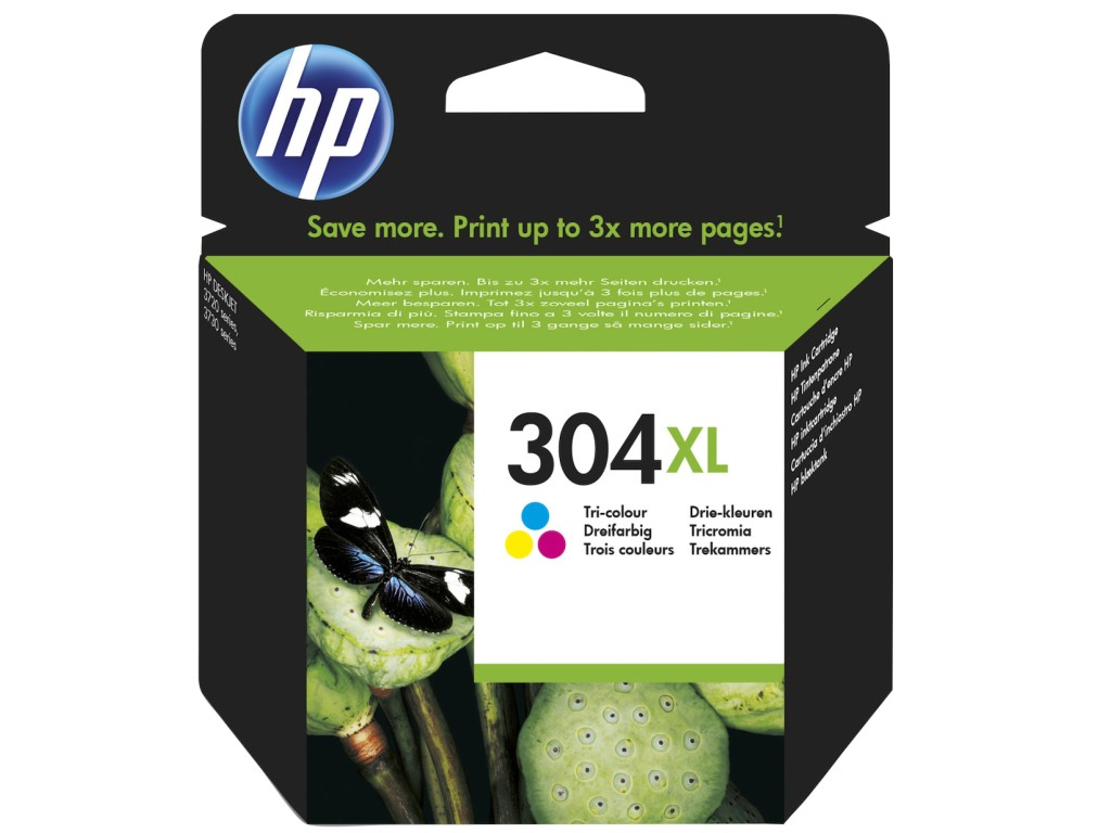 Μελάνι Εκτυπωτή InkJet HP 304XL Color N9K07AE