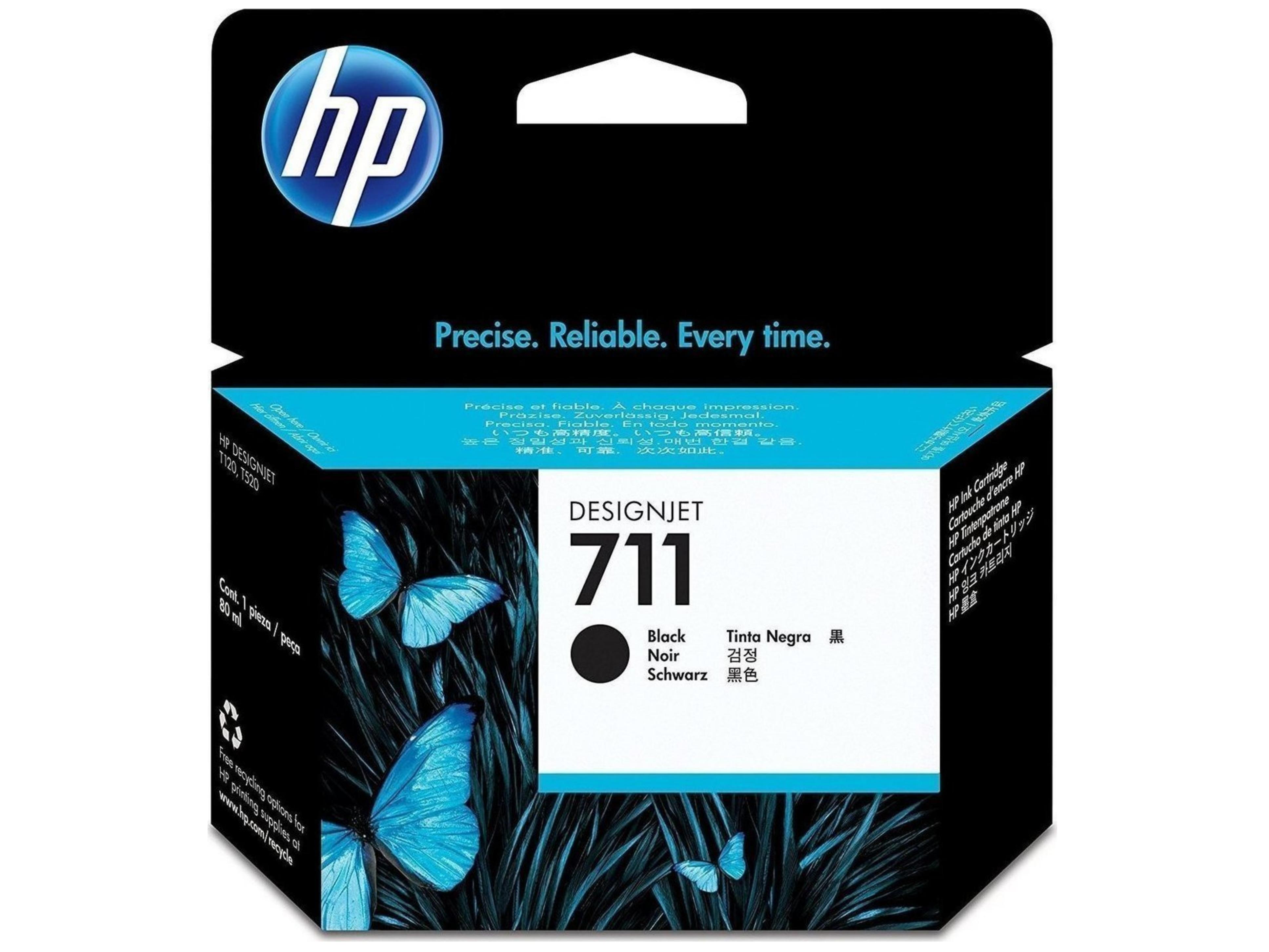 HP 711 Black (CZ133A) 80ml