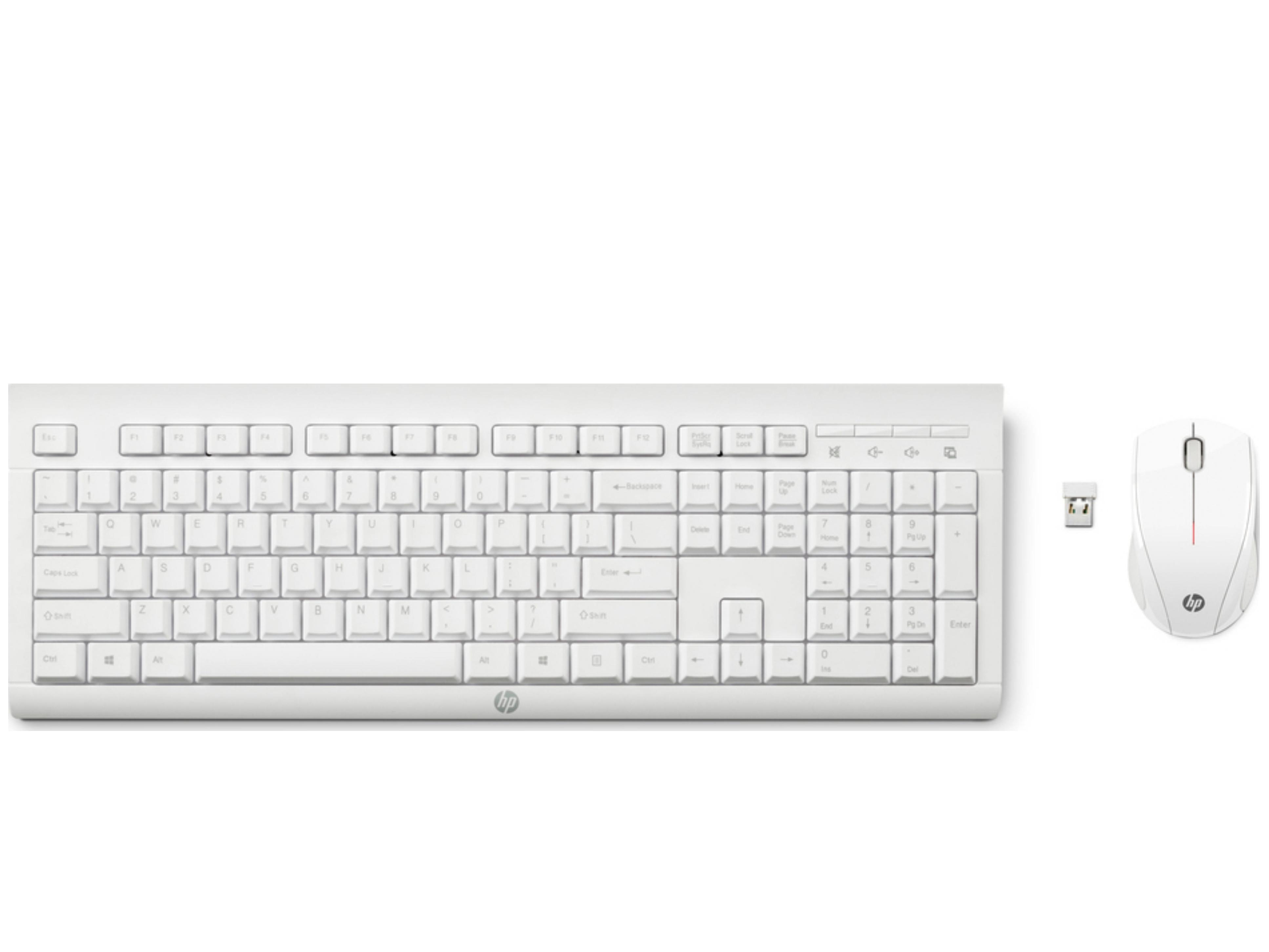 HP C2710 Ασύρματο Σετ Πληκτρολόγιο & Ποντίκι Ελληνικό