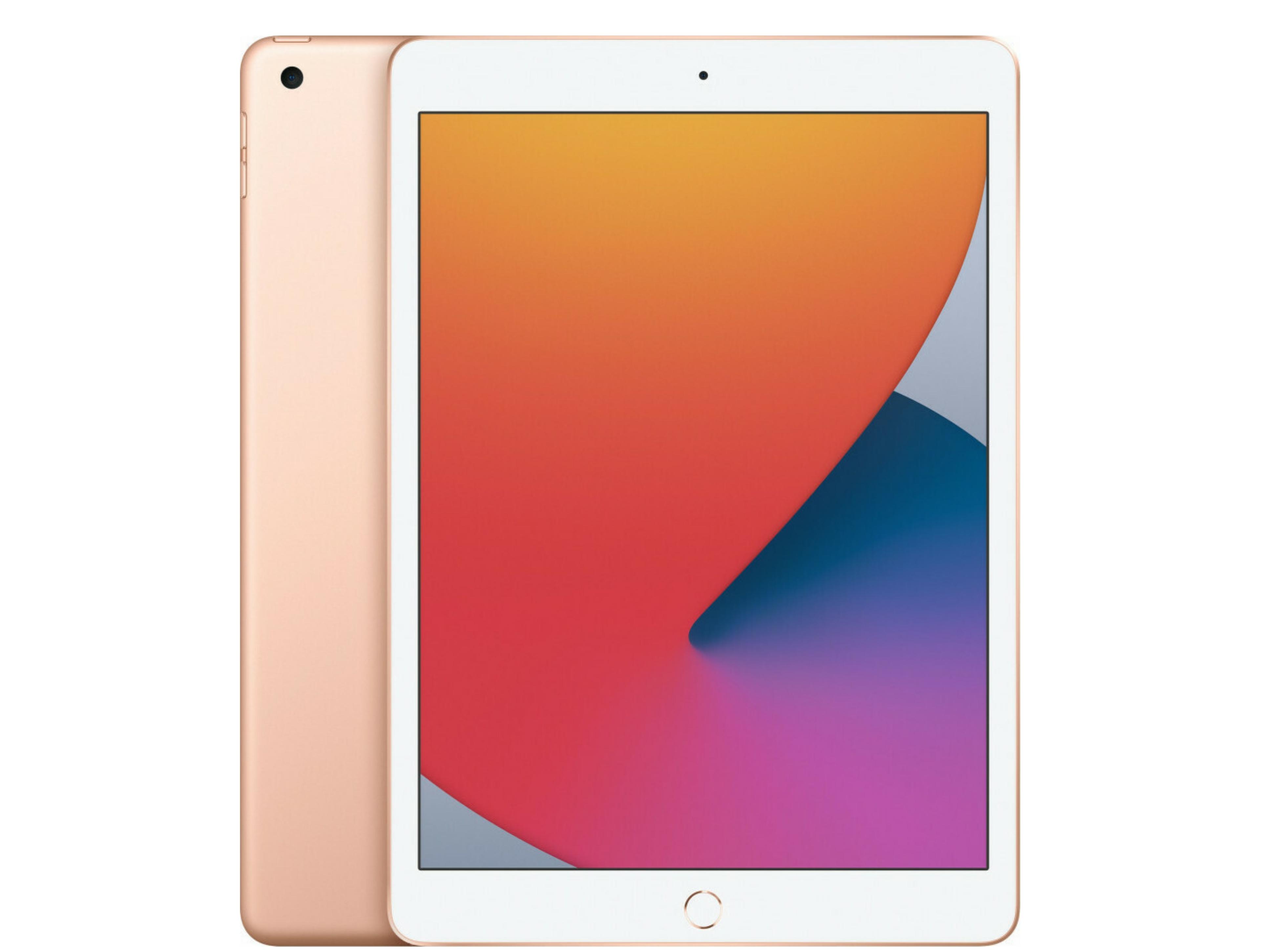 Apple iPad 2020 10.2 με WiFi και Μνήμη 128GB Gold (MYLF2)