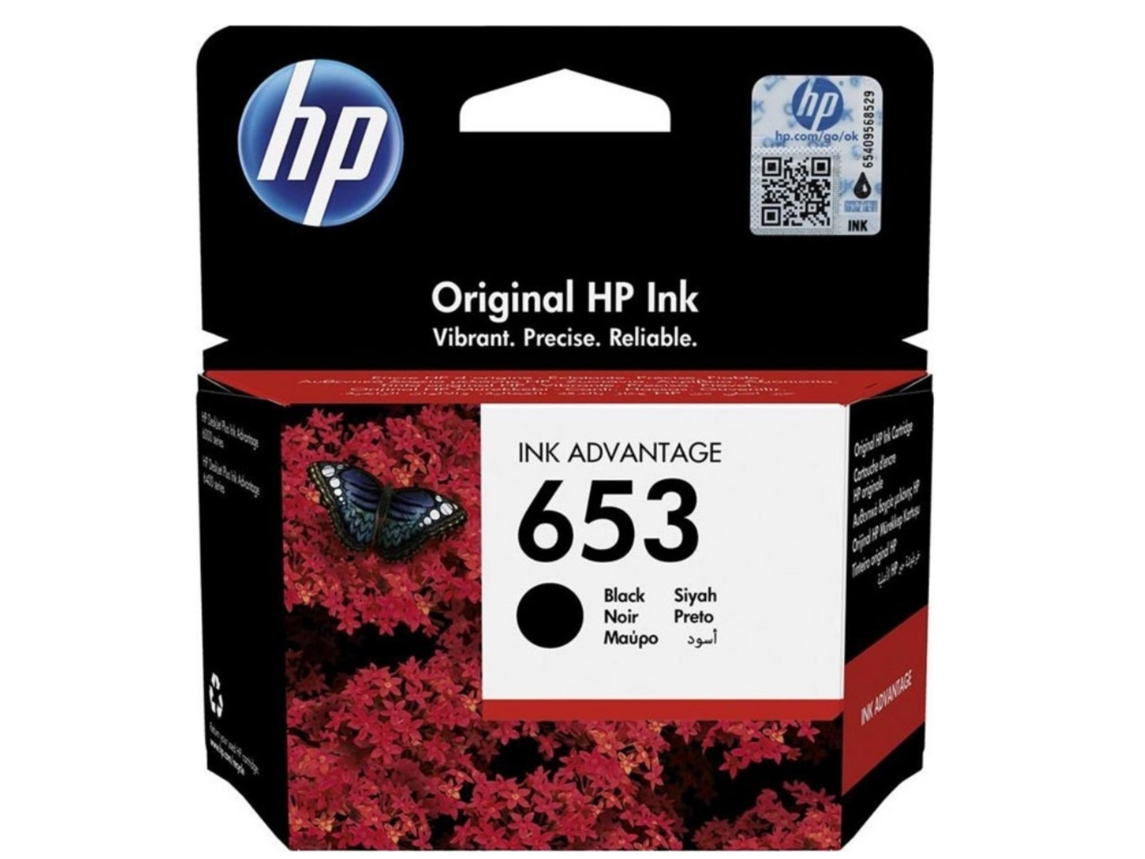 HP 653 Black 3YM75AE