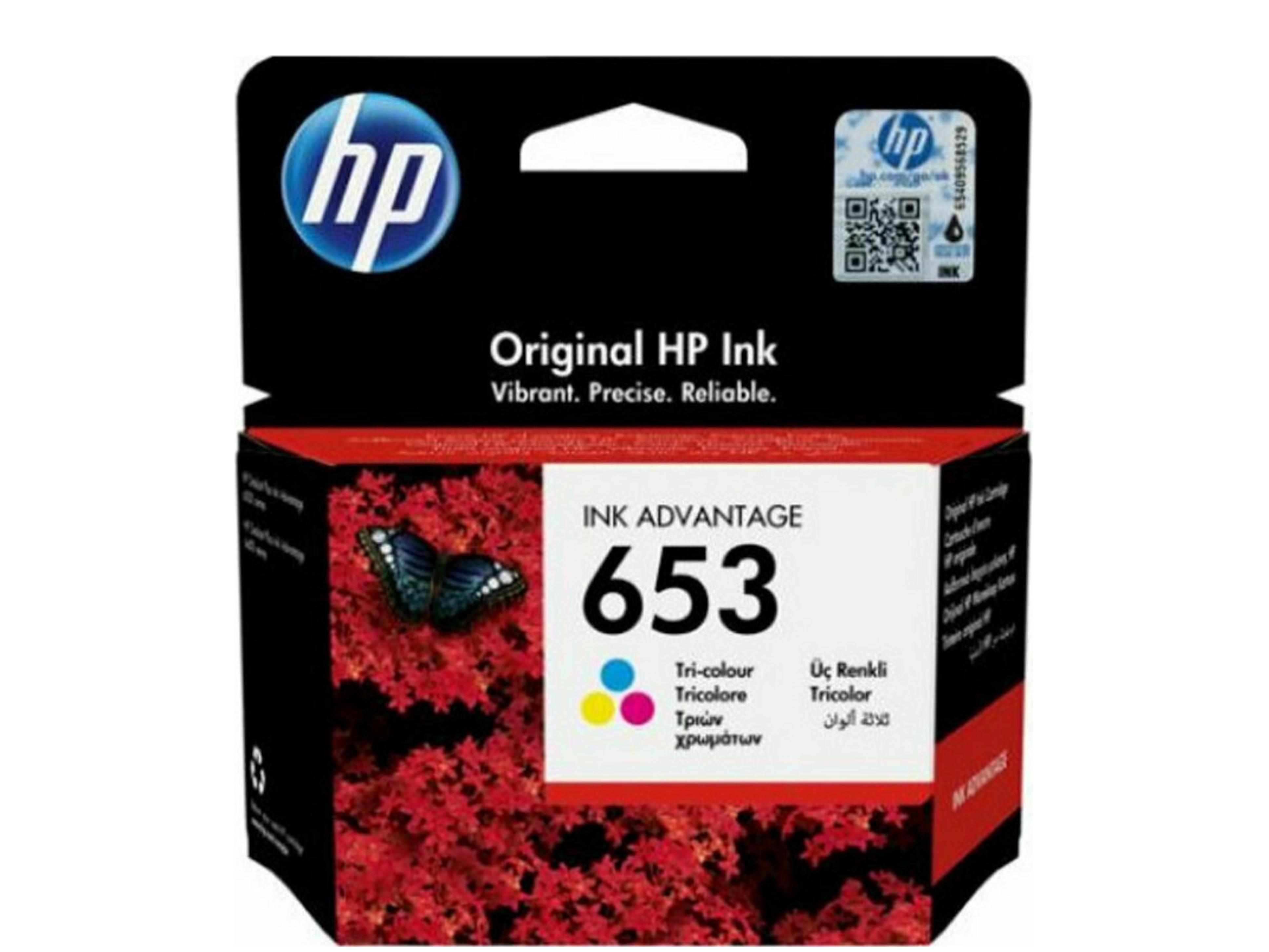 HP 653 Tri-colour 3YM74AE