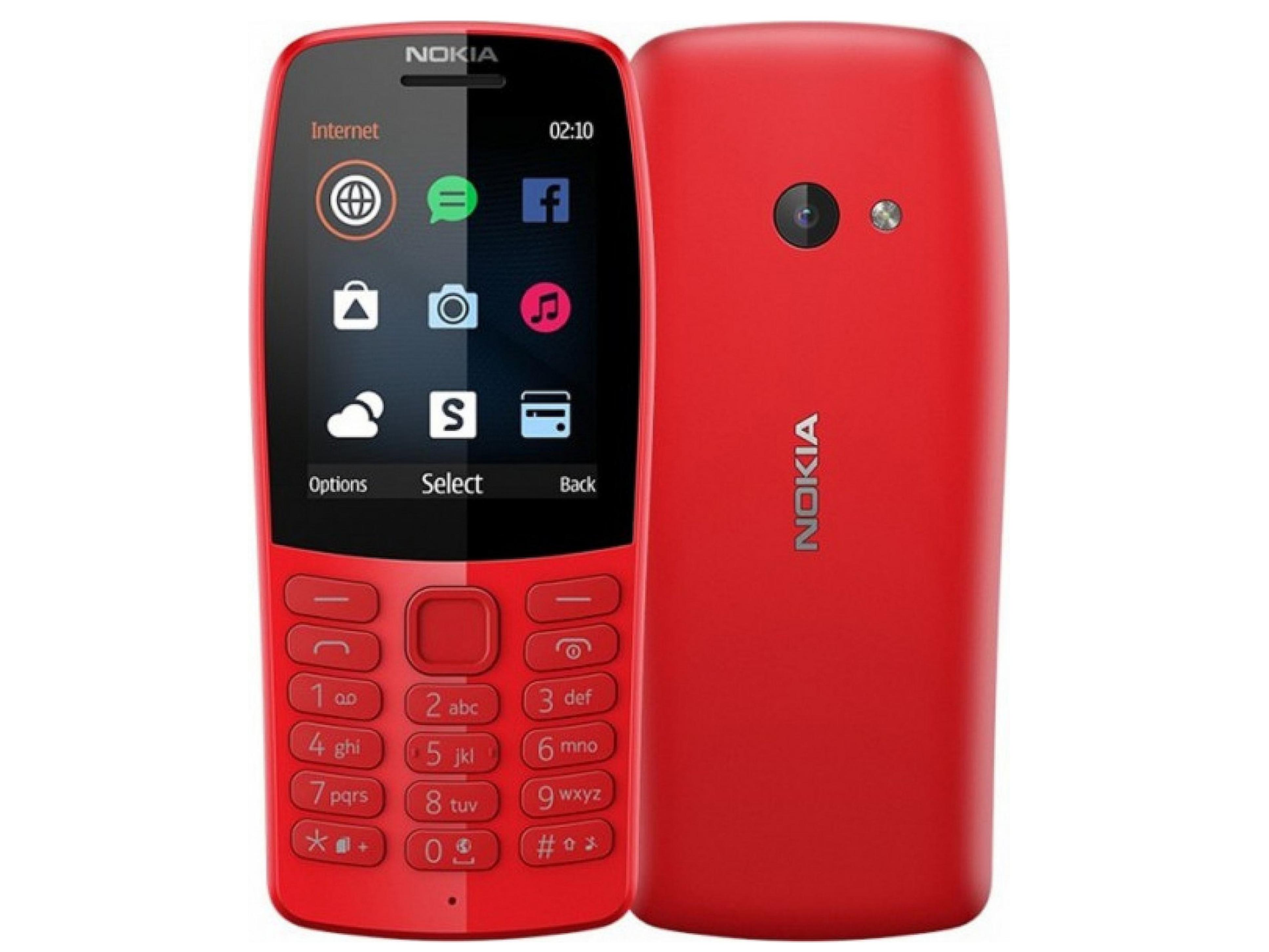Nokia 210 DS Red Κινητό Τηλέφωνο Nokia