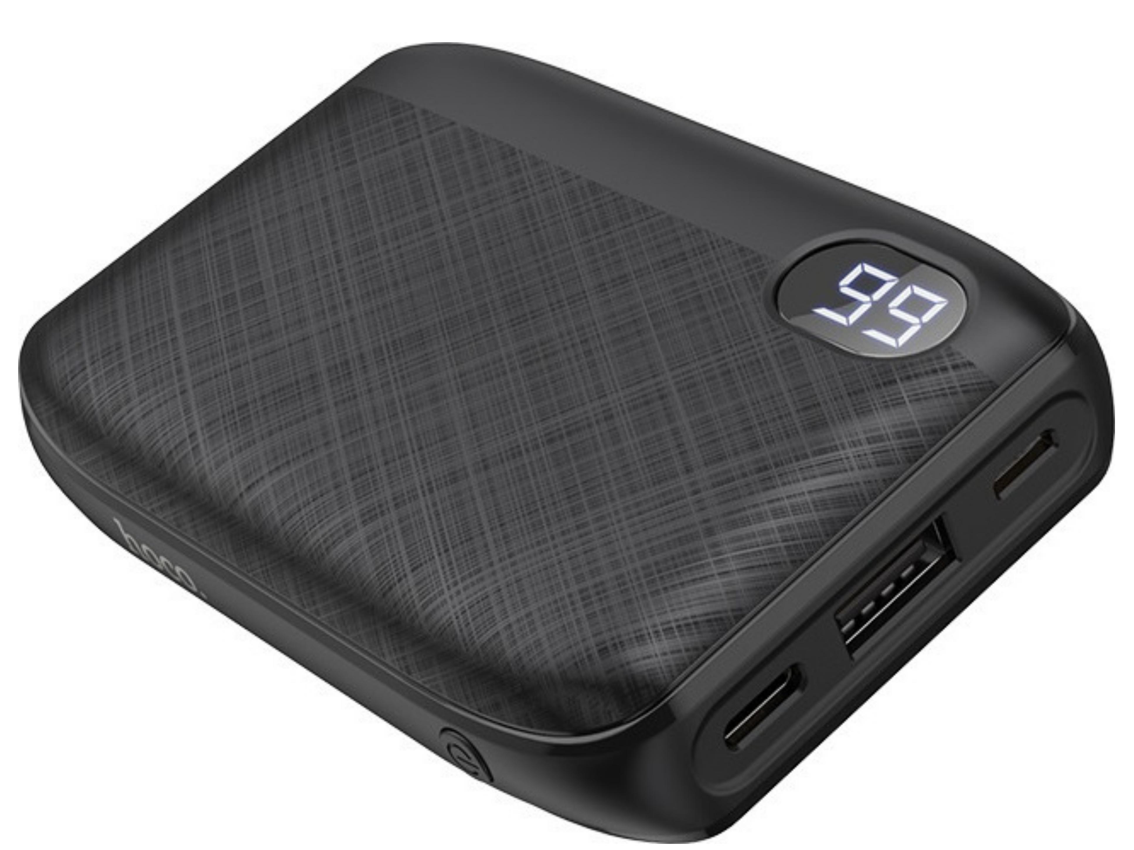 Power Bank Hoco J53 Exceptional 10000mAh USB 2A και LED Ψηφιακή Ένδειξη Μπαταρίας