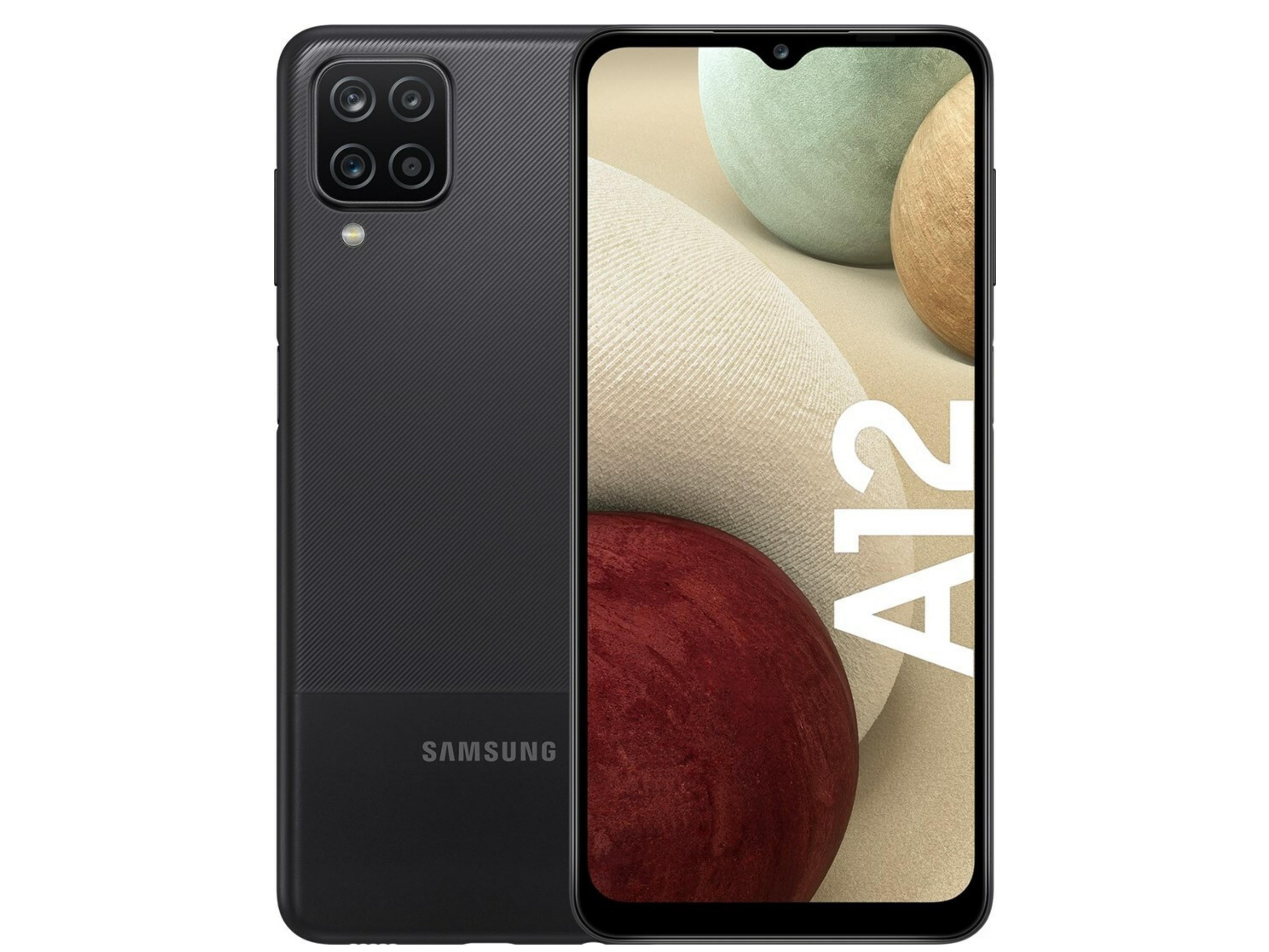 Samsung Galaxy A12 (64GB) Black 64gb