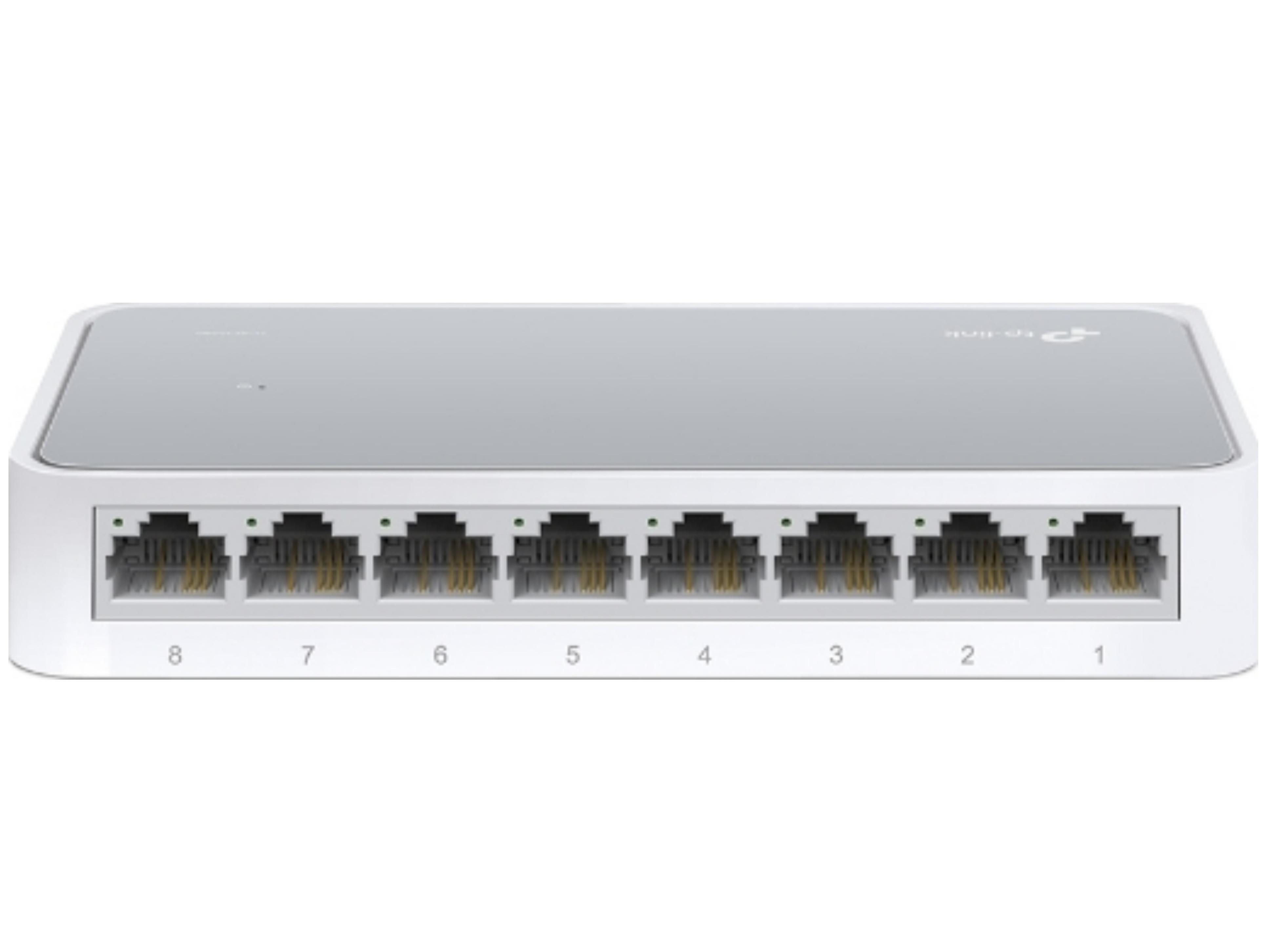 TP-LINK TL-SF1008D Unmanaged L2 Switch με 8 Θύρες Ethernet